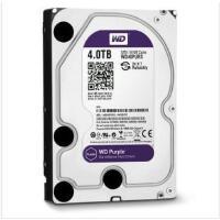 西部数据(WD)紫盘 台式机硬盘 4T SATA6Gb/s 64M 监控硬盘 4TB (WD40PURX)  品质铸造品牌!