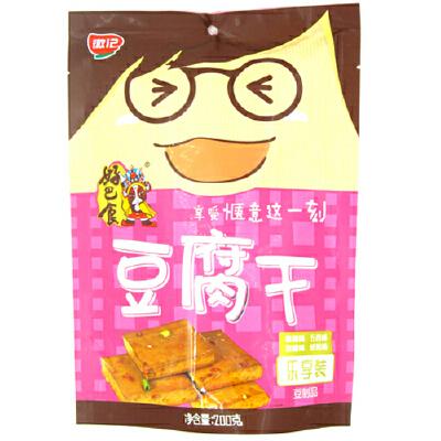[当当自营] 好巴食 好巴食南溪豆腐干(混合口味装)200g自营食品 支持货到付款