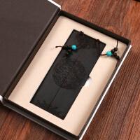 联盟古风情侣对签古典木质书签 中国风创意高档套装礼品 复古礼盒装文具