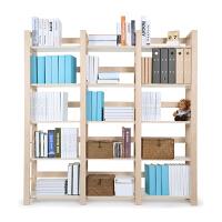 2平米H+枫桦实木儿童组合书架 多功能收纳书柜置物架