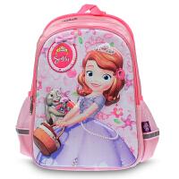 迪士尼 小学生1-2-3年级苏菲亚卡通书包 儿童双肩包 SS80014
