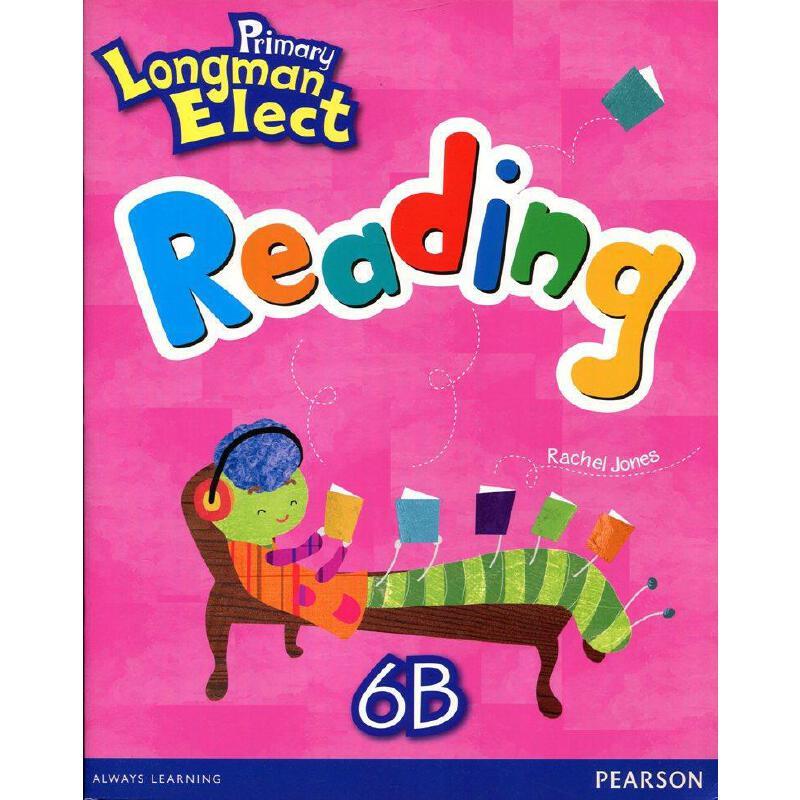 原版进口培生朗文小学6-12岁英语教材 primary longman elect read 6b