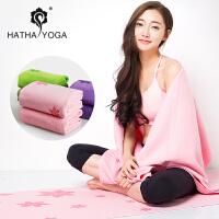 哈他防滑瑜伽铺巾加厚正品yoga初学瑜珈毯特价瑜伽垫毛巾新款