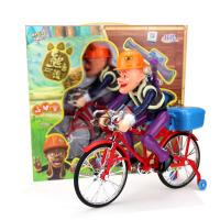 美高乐 益智电动玩具 光头强的自行车 熊出没电动玩具光头强极速单车 MG029