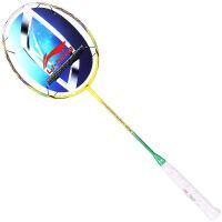 李宁(LI-NING)羽毛球拍 单拍全碳素羽拍UC2016 黄红 AYPL102-1