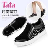 Tata/他她专柜同款牛皮/羊皮女单鞋V3004CM5