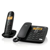 集怡嘉(Gigaset)原西门子品牌A280无绳电话机中文显示子母机
