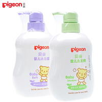 PIGEON贝亲婴儿洗发精500ML+婴儿沐浴露500ML IA109+IA112