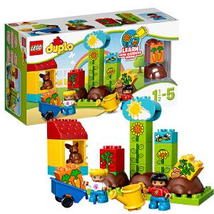 [当当自营]LEGO 乐高 得宝系列 我的第一个小花园 积木拼插儿童益智玩具 10819