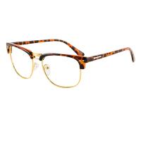 inmix音米时尚复古眼镜框个性男女潮人眼睛架可配近视防辐射镜片