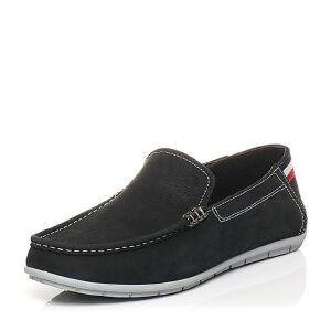 Belle/百丽夏季专柜同款油蜡牛皮男皮鞋乐福鞋懒人鞋3TA01BM5