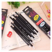 港升 书写铅笔 高级书写2B无铅毒铅笔 学生考试用笔批发 学习用品