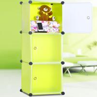 索尔诺简易收纳柜 时尚柜子 自由组合储物柜 床头柜3503