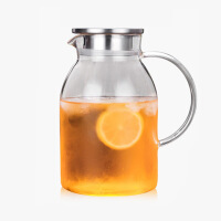 当当优品 耐热玻璃大容量冷水壶 企鹅冷水壶 1500ML