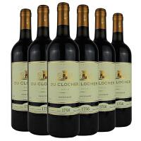 [当当自营] 法国进口 教堂城堡 教堂干红葡萄酒 750ml x6 整箱装
