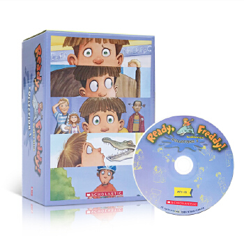 英文原版   Ready, Freddy! Collection 1 弗雷迪系列故事合集10册套装附CD Scholastic出版 儿童桥梁章节书 课外读物 英语阅读过渡