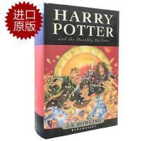 英文原版 哈利波特与死亡圣器第 第七部大结局 精装Harry Potter and the Deathly Hallows