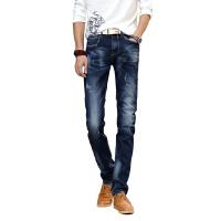 1号牛仔 牛仔裤男商务休闲直筒宽松青年男士夏季裤子