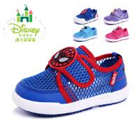 迪士尼儿童鞋宝宝鞋学步鞋女童运动鞋2016年春季新款满威英雄索菲亚公主系列