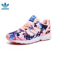 adidas阿迪达斯童装专柜正品2017春三叶草 女小童运动鞋 BB2881