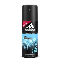 adidas阿迪达斯男士香水香体止汗喷雾 150ML 冰点