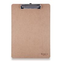 当当自营 广博(GuangBo)木质平夹型A4 A26116书写板夹/文件夹板/办公用品