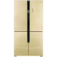 美菱(MeiLing) BCD-639WUP9B 639升 十字对开门冰箱 变频无霜 时尚流沙金 (智能APP手机控制)