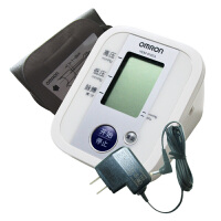 欧姆龙全自动上臂式电子血压计 家庭电子血压计 HEM-8102A 配送欧姆龙原装电源适配器+ 电池 记忆读出 大屏显示 可接AC稳压电源 上臂式家用血压计