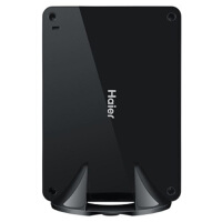 海尔(Haier)云悦mini 2X(Win8.1)台式主机(Intel四核J1900 4G 500G+64G SSD WIFI USB3.0 Win8.1)迷你电脑