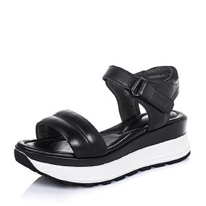 Bata/拔佳夏季小牛皮时尚休闲女凉鞋AR705BL6