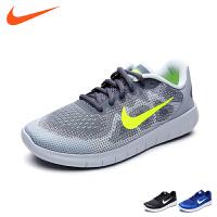 耐克童鞋夏新款 NIKE FREE RN 2017 (GS) 大童运动跑步鞋 904255