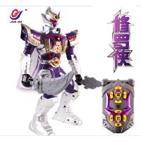 铠甲勇士拿瓦玩具 修罗侠铠甲召唤器套装 红外线遥控机器人
