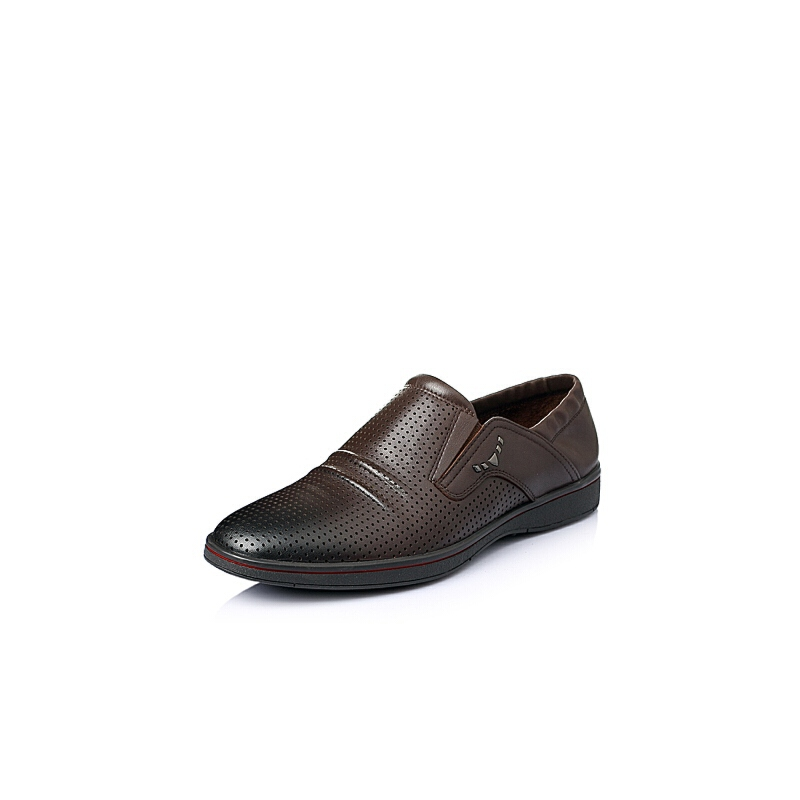 senda/森达夏季牛皮男单鞋abr08bm6_棕色,41