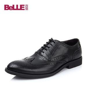 Belle/百丽牛皮4288DDM4男皮鞋