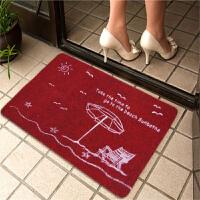 享家印花门口进门地垫门垫脚垫入户门厅厨房浴室吸水防滑垫50*80cm 地毯地垫