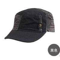 骑车防晒帽遮阳帽平顶帽帽子 男士夏天韩版潮太阳帽