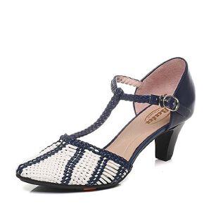BATA/拔佳春季专柜同款编织女凉鞋(超软)AD306AK6