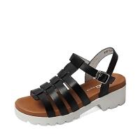 Senda/森达夏季专柜同款小牛皮女凉鞋F3Y01BL6 专柜1