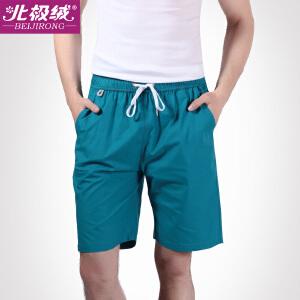 北极绒男士休闲裤家居裤睡裤运动宽松短裤衩沙滩裤