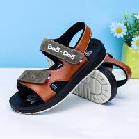16.5cm~23.5cm巴布豆童鞋 男童凉鞋2017夏季韩版新款中大童鞋防滑儿童沙滩鞋潮