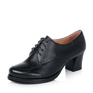 BATA/拔佳牛皮女单鞋AQ723CM6