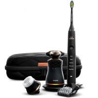 飞利浦电动剃须刀声波震动电动牙刷多功能须刀男士护理套装S8880 新品上市