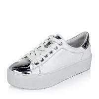 百丽旗下INNET/茵奈儿女单鞋ZS98CCM6小白鞋运动鞋女小白鞋女