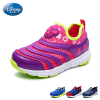 迪士尼童鞋2017年夏季网鞋男童女童米奇透气运动鞋毛毛虫学生童鞋