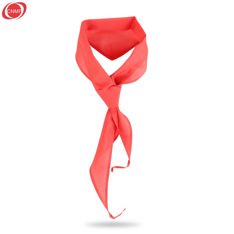 谋福 少先队员红领巾 小学生红领巾 绸布三角形 不缩水