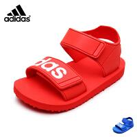 adidas阿迪三叶草2017新款夏季男婴童BEACH SANDAL I休闲鞋 BA7135