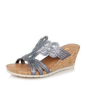 Belle/百丽夏季专柜同款成型帮面女凉鞋3RMF3BT6