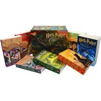 哈利波特 英文原版 套装全集 Harry Potter 1-7 美国经典版