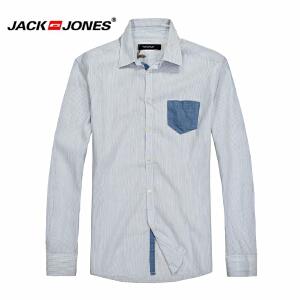 杰克琼斯 秋季 男士长袖衬衫 衬衣16-2-1-213105053020