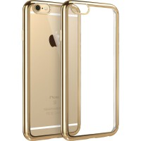 【当当自营】 ESR亿色 iPhone6s Plus/6 Plus手机壳 电镀边框软壳 初色晶耀系列 香槟金
